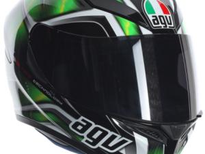 Agv K5 Multi HURRICANE - Black Green White