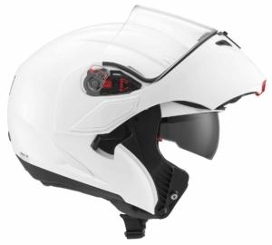 Casco moto modulare AGV Compact E2205 Mono White