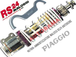 anteriore e posteriore per Piaggio Zip SP 1//2 Antiurto daempferkit MALOSSI RS24//10