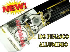 kit cilindro 102 pinasco alluminio vespa special