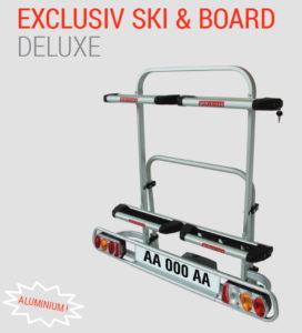 Portasci EXCLUSIV SKI & BOARD Deluxe Fabbri