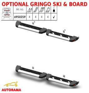 optional Gringo ski board portasci e snow board Fabbri 6950259