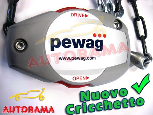 CATENE DA NEVE 7mm PEWAG SERVO SPORT AUTO NON CATENABILI 185//65R15 RSS67