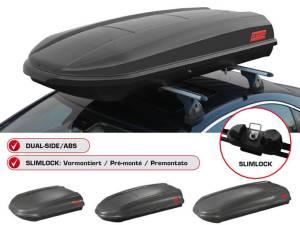 CUBO 460 litri Box portabagagli tetto auto Fabbri