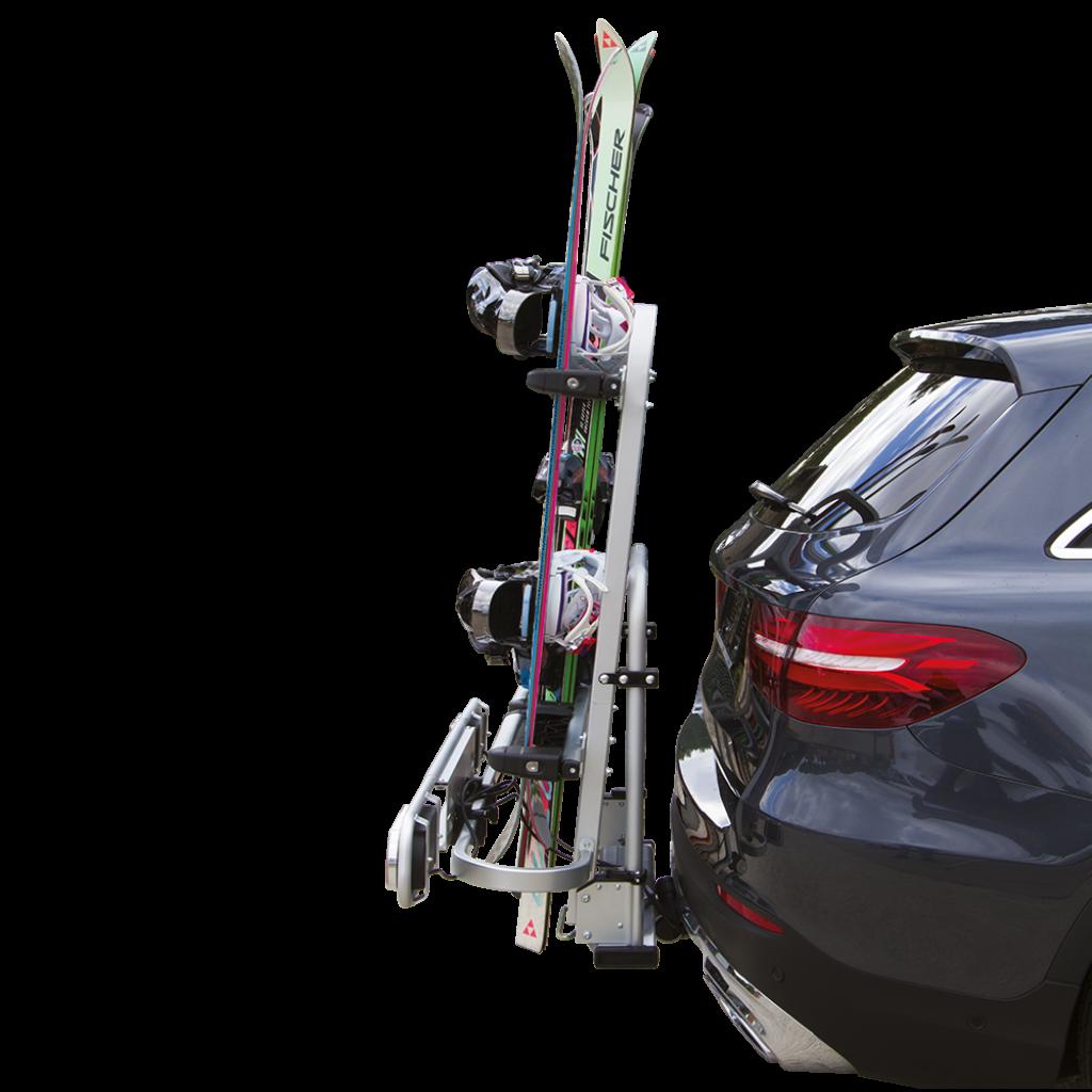 Ski rack EXCLUSIV SKI & BOARD Deluxe Fabbri Towing hitch