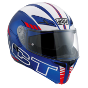 Agv Compact St Seattle matt Blue white rot