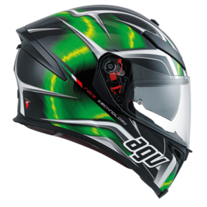 Agv K-5 S Hurricane black green white pinlock