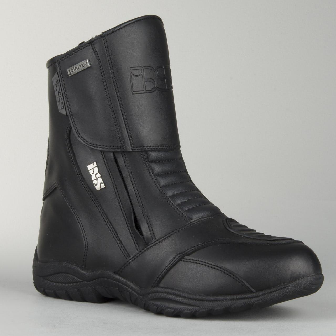 Bottes de moto IXS Pacego noires