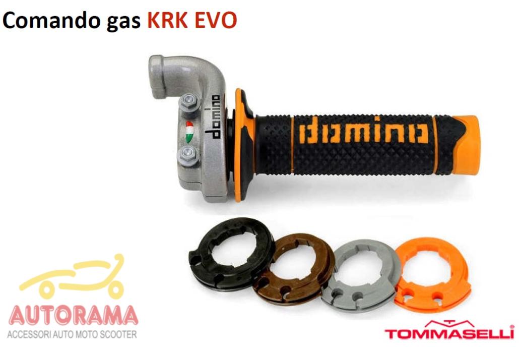 Comando gas KRK EVO Domino