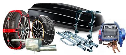accessori auto e ricambi