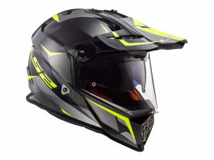 Casco LS2 MX436 PioneerRingBlack Titanio